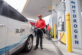 Fueling hydrogen vehicle